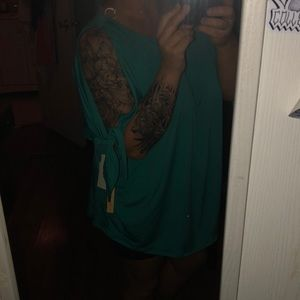 NWT off the shoulder shirt